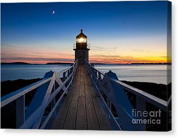 Marshall Point Light Canvas Print by Brian Jannsen
