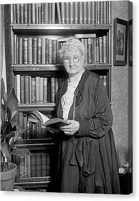 Mother Jones. Mary Harris Jones, Photo Canvas Print by Everett