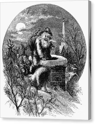 Nast: Santa Claus Canvas Print by Granger