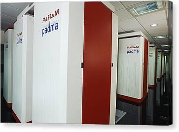 Param Padma Supercomputer Canvas Print by Volker Steger