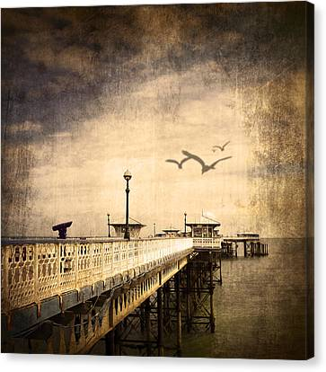 Pier Canvas Print by Svetlana Sewell