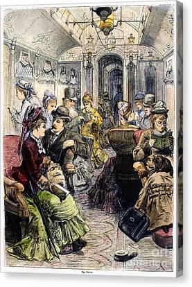 Pullman Car, 1876 Canvas Print by Granger