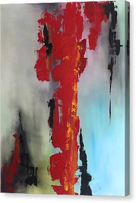 Rojo Canvas Print by Eric Chapman