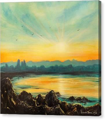 Serenity Canvas Print by Gina De Gorna
