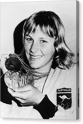 Shane Gould (1956- ) Canvas Print by Granger