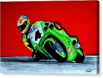 Speed Demon...... Canvas Print by Tanya Tanski