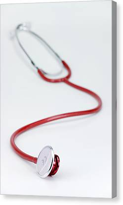 Stethoscope Canvas Print by Paul Rapson