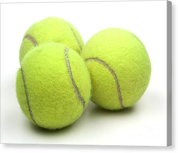 Tennis Balls Canvas Print by Blink Images