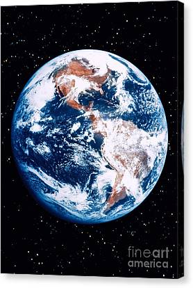 The Earth Canvas Print by Stocktrek Images