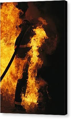 The Sewanee Volunteer Fire Department Canvas Print by Stephen Alvarez