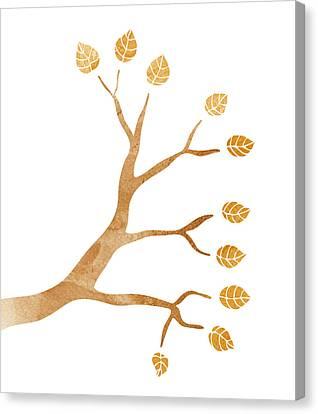 Tree Branch Canvas Print by Frank Tschakert
