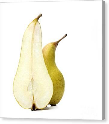 Two Pears Canvas Print by Bernard Jaubert