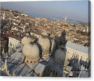 View Of Venice Canvas Print by Bernard Jaubert