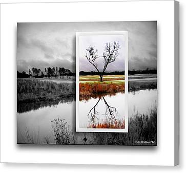 X Marks The Spot Canvas Print by Brian Wallace