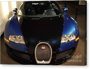 2006 Bugatti Veyron - 7d17276 Canvas Print by Wingsdomain Art and Photography