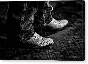 20120928_dsc00448_bw Canvas Print by Christopher Holmes