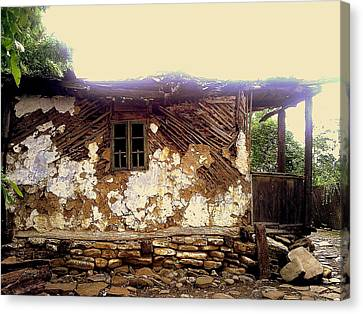 230 Years Old House Canvas Print by Romeo Popescu