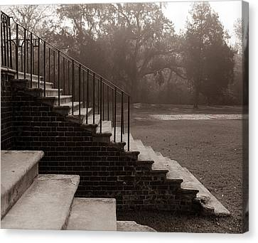 28 Up And Down Steps Canvas Print by Jan Faul