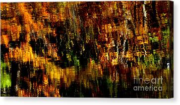 Abstract Babcock State Park Canvas Print by Thomas R Fletcher