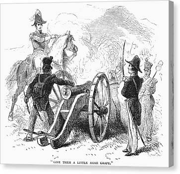 Battle Of Buena Vista Canvas Print by Granger