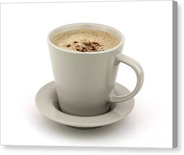 Cappuccino Coffee  Canvas Print by Blink Images