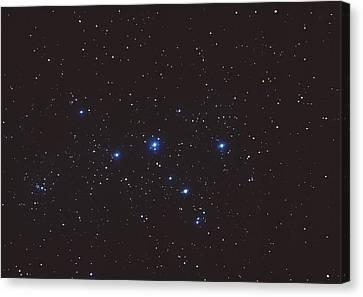Cassiopeia Constellation Canvas Print by John Sanford
