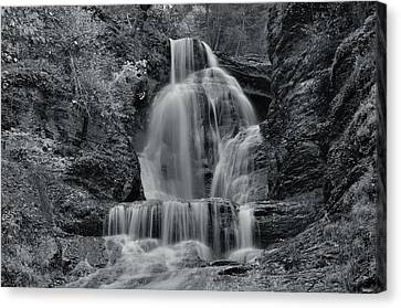 Dingmans Falls Canvas Print by Stephen  Vecchiotti