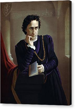 Edwin Booth 1833-1893, American Actor Canvas Print by Everett