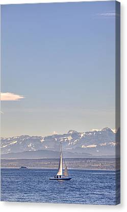 Lake Constance Canvas Print by Joana Kruse