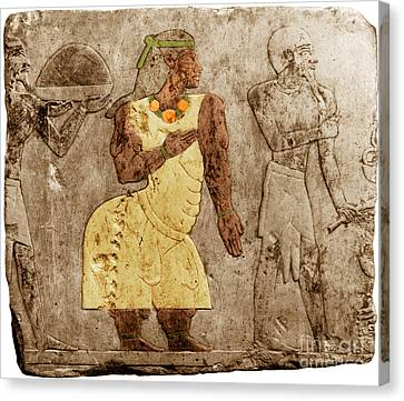 Muscular Dystrophy, Ancient Egypt Canvas Print by Science Source