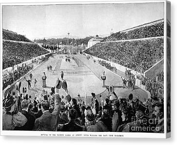 Olympic Games, 1896 Canvas Print by Granger