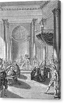 Pierre De Beaumarchais Canvas Print by Granger