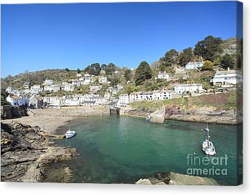 Polperro Canvas Print by Carl Whitfield