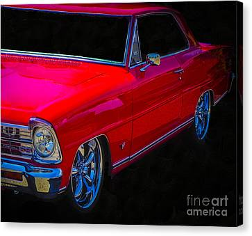 Real Red Nova Ss Canvas Print by Chuck Re