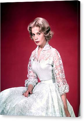 Sandra Dee, Ca. 1950s Canvas Print by Everett