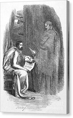 Shakespeare: Julius Caesar Canvas Print by Granger