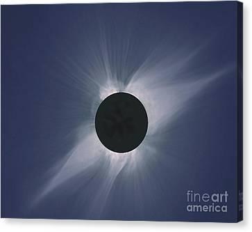 Solar Eclipse Canvas Print by Nasa