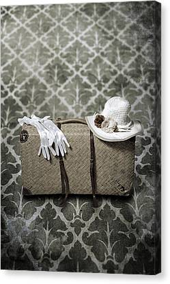 Suitcase Canvas Print by Joana Kruse