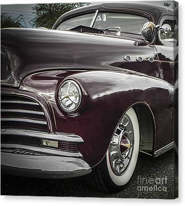 3 Window Barris Chevy Canvas Print by Chuck Re