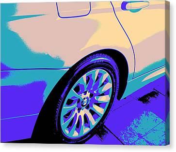 328i-crc2012-bmw-psy-106 Canvas Print by Chuck Re