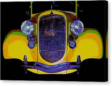 34 Plymouth Pexx Canvas Print by Chuck Re