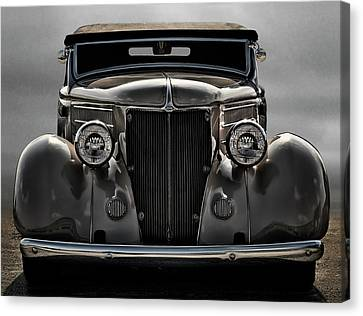 '36 Ford Convertible Coupe Canvas Print by Douglas Pittman