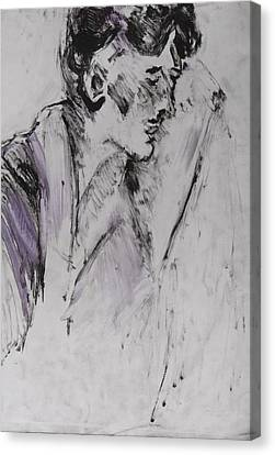 Untitled Canvas Print by Iris Gill