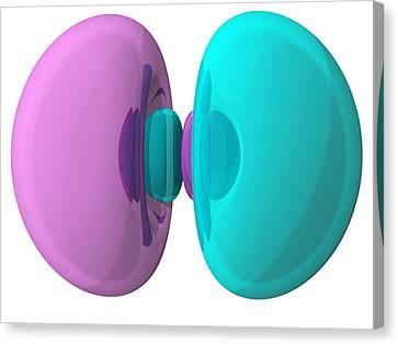 3p Electron Orbital Canvas Print by Laguna Design