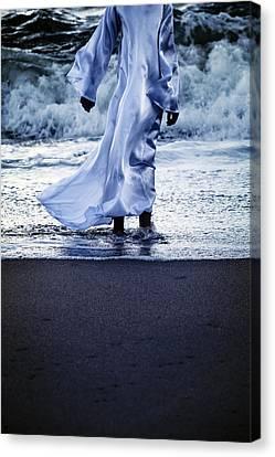 Girl At The Sea Canvas Print by Joana Kruse