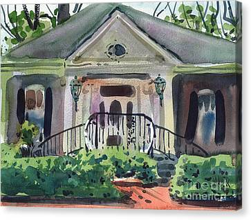 Hiram Butler House Canvas Print by Donald Maier