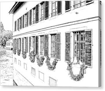 La Petite France Strasbourg France Canvas Print by Joseph Hendrix