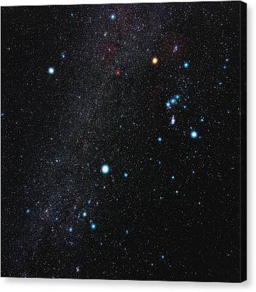 Orion Constellation Canvas Print by Eckhard Slawik