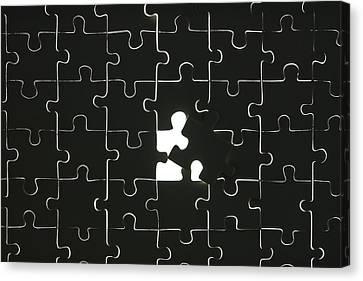 Puzzle Canvas Print by Joana Kruse