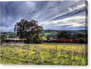 Rural Australia Canvas Print by Imagevixen Photography